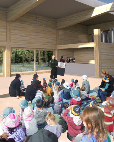 Langley Vale Wood Visitor's Centre 25