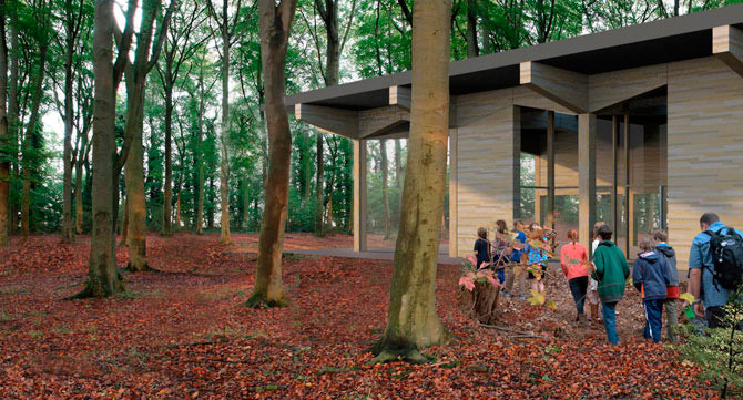 Langley Vale Wood Visitor's Centre 26