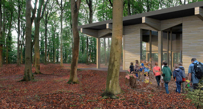 Langley Vale Wood Visitor's Centre 2